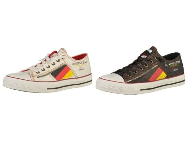 DOCKERS by Gerli Damen Kinder Sneaker Washed Canvas Schuhe