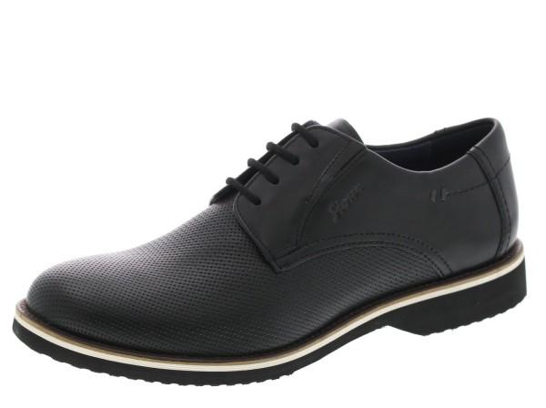 SIOUX Germany Herren Business Schuhe Dilip-701-XL Extraweit Schwarz