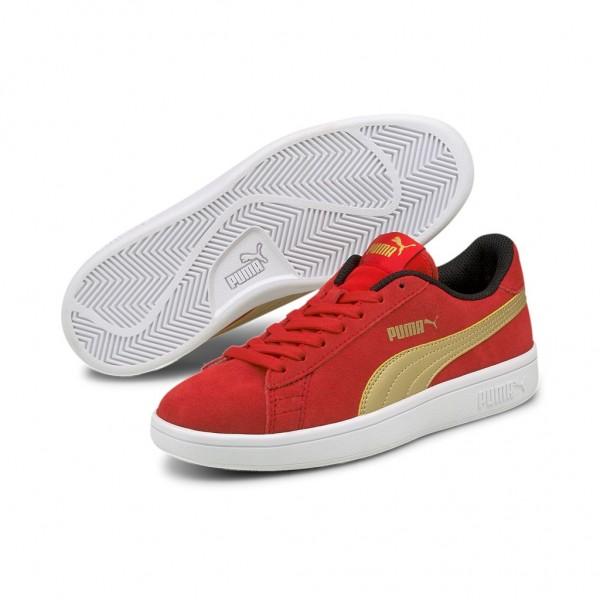 Puma Smash v2 SD Jr Low Top Damen Unisex Kinder Sneaker Turnschuhe