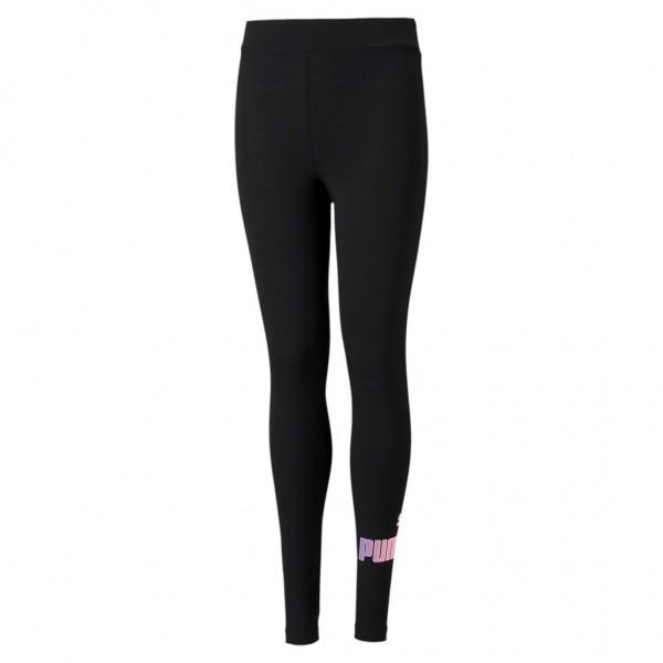 PUMA Mädchen ESS+ Logo Leggings G Tights Sporthose Turnhose