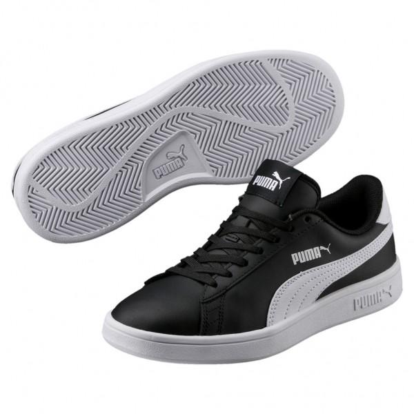 Puma Smash v2 L Jr Low Top Unisex Kinder Sneaker Turnschuhe