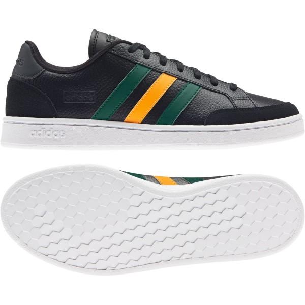 adidas Herren Grand COURT SE Sneaker Schuhe Core Sport Vintage Retro H02030