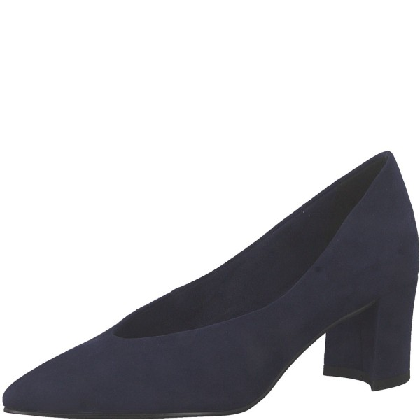 Marco Tozzi Klassische elegante Damen Pumps 2-22416-34 Blau