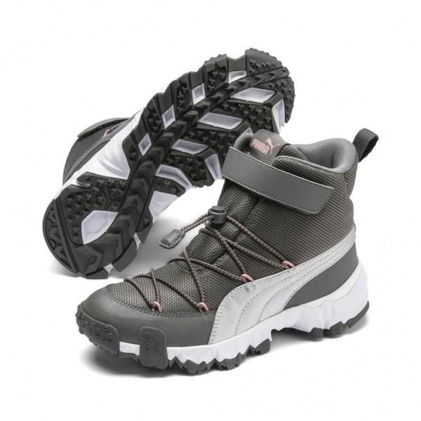 Puma MAKA V JR Top Unisex Kinder Stiefel Outdoor Boots Winterschuhe