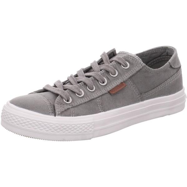 DOCKERS by Gerli Herren Sneaker Washed Canvas Schuhe Grau