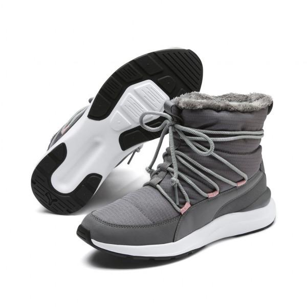 Puma Damen Adela Winter Boot Outdoorschuhe Sneaker gefüttert
