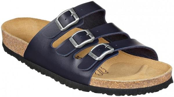 JOE N JOYCE Paris Sandale Sandalette Hausschuhe SynSoft Komfort Dark Blue