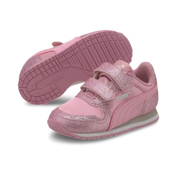 Puma Cabana Racer Glitz Inf Infant Kinder Baby Schuhe Sneaker