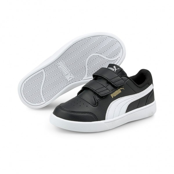 Puma Kinder Unisex Shuffle V PS Sneaker Sportschuhe Turnschuhe Freizeitschuhe